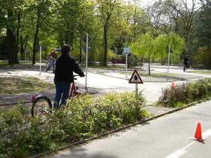 Übungsort Radfahrschule für Erwachsene Berlin Steglitz