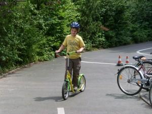 fahrradfahren lernen für kinder - Roller
